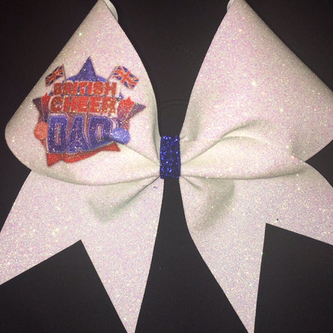 BCD sparkly Cheer Bow