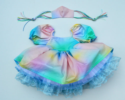 Rainbow Ombré Dream Dress