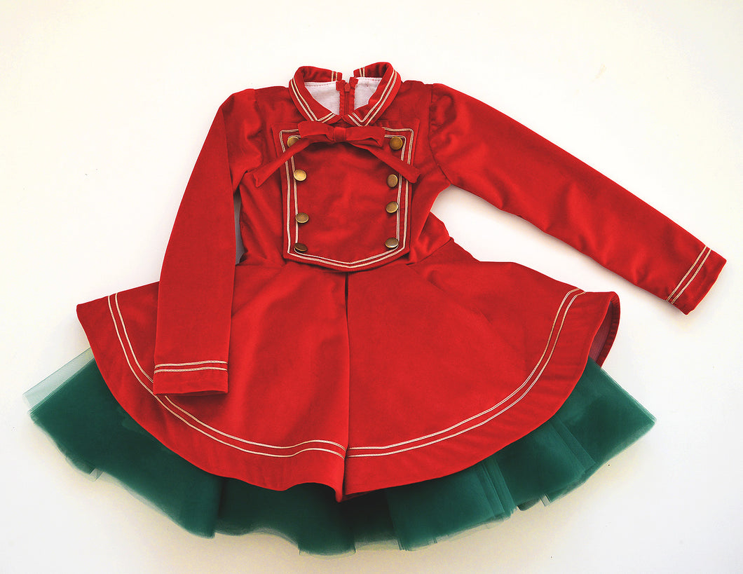 Nutcracker Winter Dress