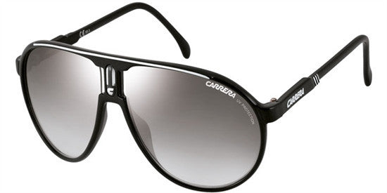 CARRERA CHAMPION BSC (IC) - BLCK SILV (GREY MS SLV) Specs at Home
