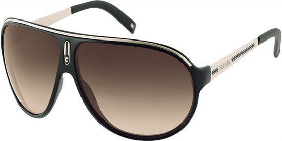 CARRERA RUSH 904 (W0) - BLK LTGLD (BROWN SF) Specs at Home