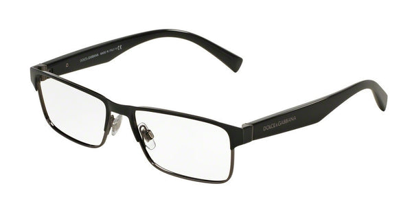 Dolce & Gabbana DG1232 1 BLACK/GUNMETAL Specs at Home