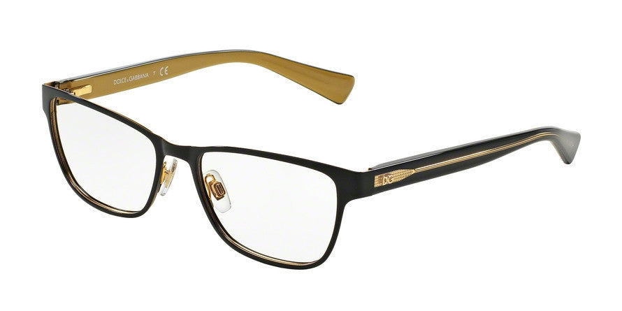 Dolce & Gabbana DG1273 1268 TOP BLACK ON GOLD Specs at Home
