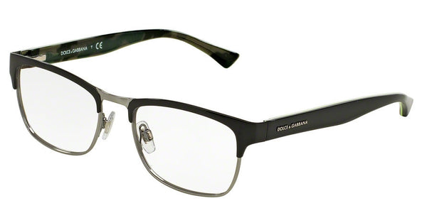 Dolce & Gabbana DG1274 1277 BLACK/GUNMETAL Specs at Home