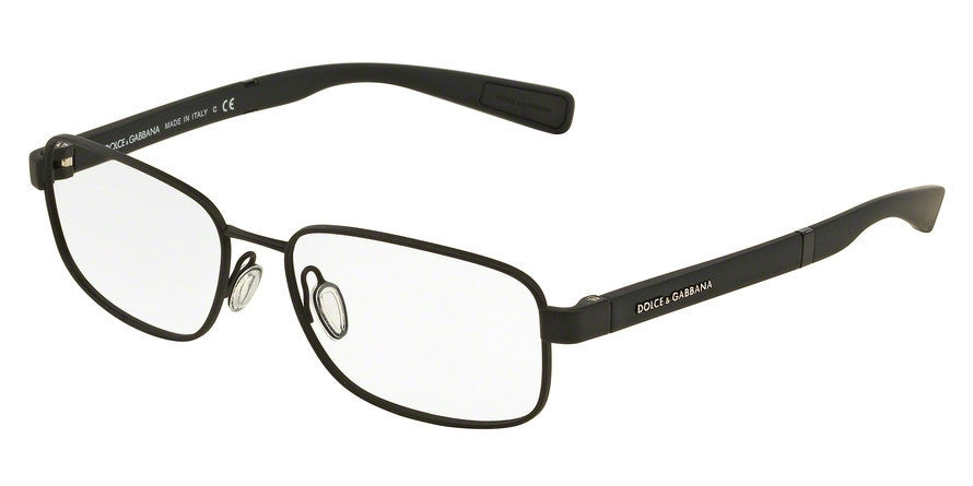 Dolce & Gabbana DG1281 1260 BLACK RUBBER Specs at Home