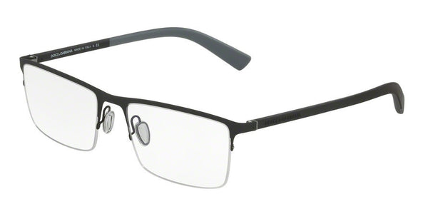 Dolce & Gabbana DG1284 1260 BLACK RUBBER Specs at Home