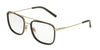 Dolce & Gabbana DG1288 488 PALE GOLD/BROWN Specs at Home