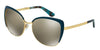 Dolce & Gabbana DG2143 02/6G GOLD/PETROLEUM Specs at Home