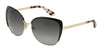 Dolce & Gabbana DG2143 488/T3 PALE GOLD/BLACK (Polarized) Specs at Home
