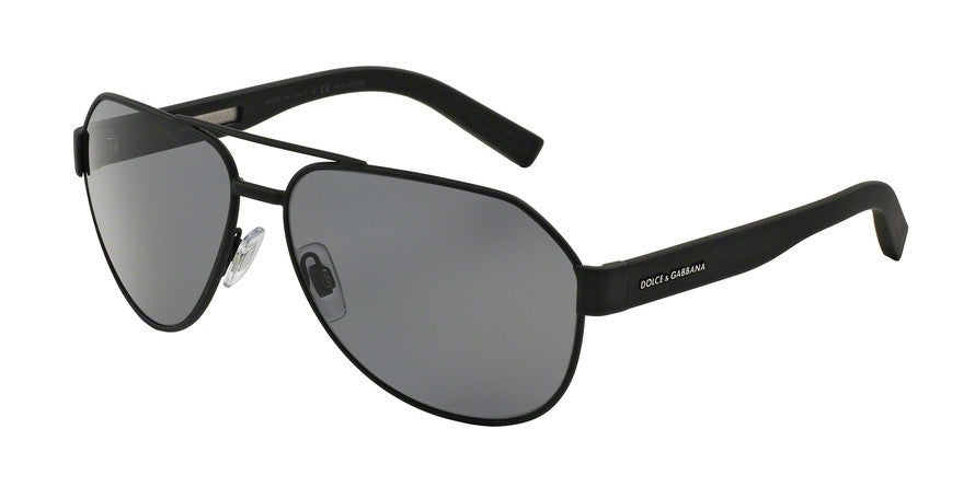 Dolce & Gabbana DG2149 126081 BLACK RUBBER (Polarized) Specs at Home