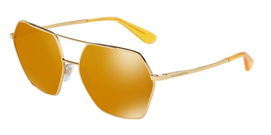 Dolce & Gabbana DG2157 02/N0 GOLD Specs at Home