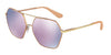 Dolce & Gabbana DG2157 12945R MATTE PINK GOLD Specs at Home