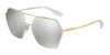 Dolce & Gabbana DG2157 13076G SILVER/GOLD Specs at Home