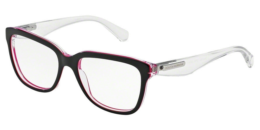 Dolce & Gabbana DG3193 2794 BLACK/PEARL FUXIA/CRYST Specs at Home