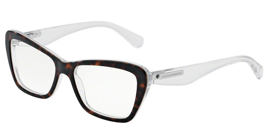 Dolce & Gabbana DG3194 2795 HAVANA/PEARL WHITE/CRYST Specs at Home