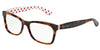 Dolce & Gabbana DG3199 2872 HAVANA/POIS RED/WHITE Specs at Home