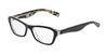 Dolce & Gabbana DG3202 2840 BLACK/BLACK PEACH FLOWERS Specs at Home