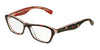 Dolce & Gabbana DG3202 2986 ROSE/FLOWERS ON BLACK Specs at Home