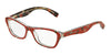 Dolce & Gabbana DG3202 2987 ROSE/FLOWERS ON RED Specs at Home