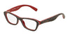 Dolce & Gabbana DG3202 2988 CHECK RED/BLUE/RED Specs at Home