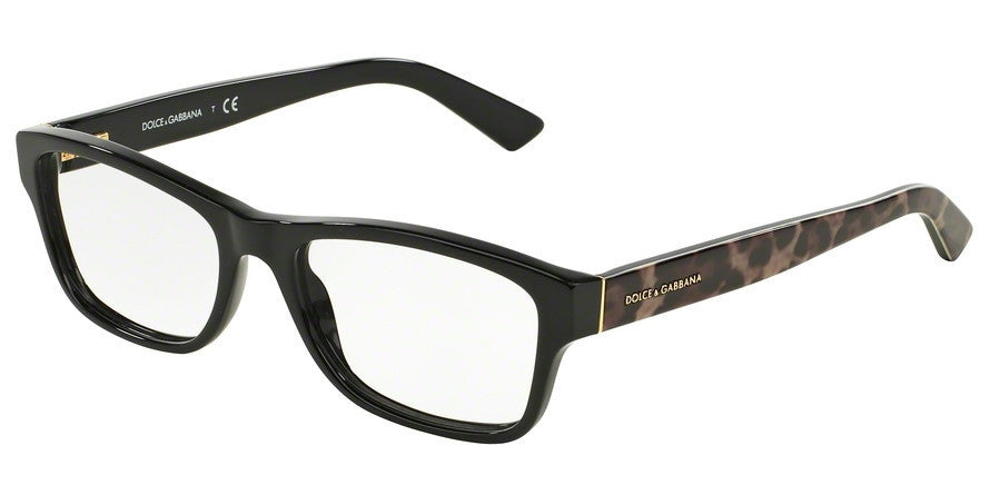 Dolce & Gabbana DG3208 2525 BLACK Specs at Home