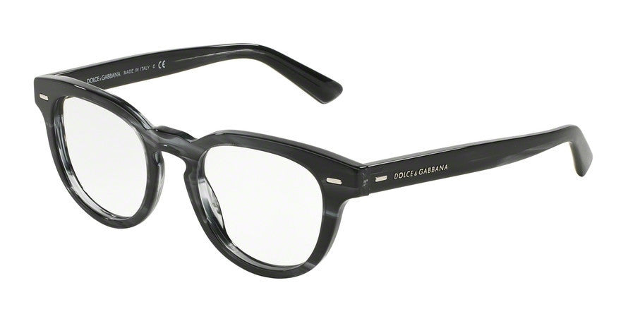 Dolce & Gabbana DG3225 2924 STRIPED ANTHRACITE Specs at Home