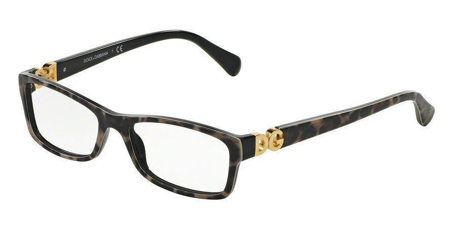 Dolce & Gabbana DG3228 1995 TOP LEO ON BLACK Specs at Home