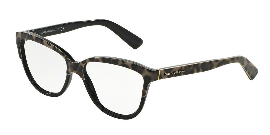 Dolce & Gabbana DG3229 1995 TOP LEO ON BLACK Specs at Home