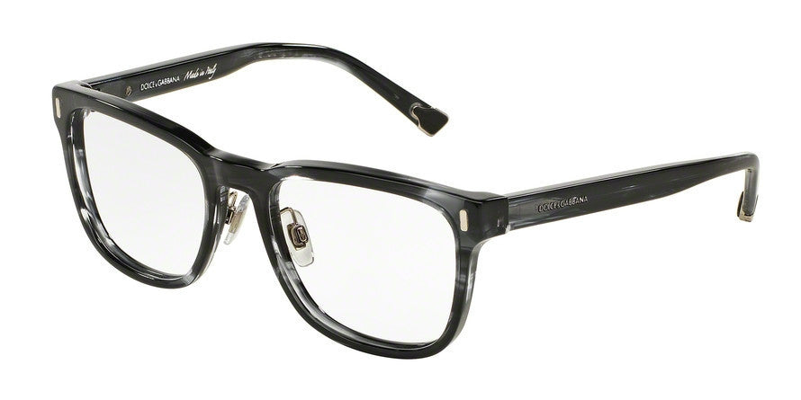 Dolce & Gabbana DG3241 2924 STRIPED ANTHRACITE Specs at Home