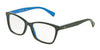 Dolce & Gabbana DG3245 3006 TOP WOOD/GOLD/AZURE Specs at Home