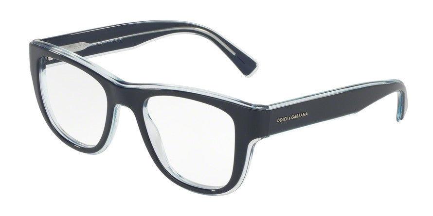 Dolce & Gabbana DG3252 3048 TOP BLUE ON TRANSP AZURE Specs at Home