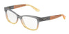Dolce & Gabbana DG3254 3074 GRAD BROWN/CARAMEL/YELLOW Specs at Home