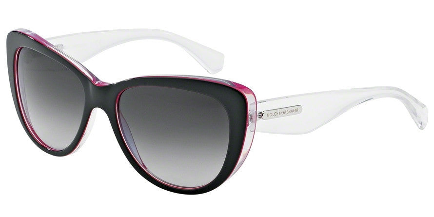 Dolce & Gabbana DG4221 27948G BLACK/PERAL FUXIA/CRYST Specs at Home
