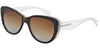 Dolce & Gabbana DG4221 2795T5 HAVANA/PEARL WHITE/CRYST (Polarized) Specs at Home