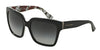 Dolce & Gabbana DG4234 29768G BLACK/WHITE CARNATION BLK POIS Specs at Home