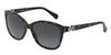 Dolce & Gabbana DG4258 2778T3 TOP BLACK FLOWERS ON BLACK (Polarized) Specs at Home