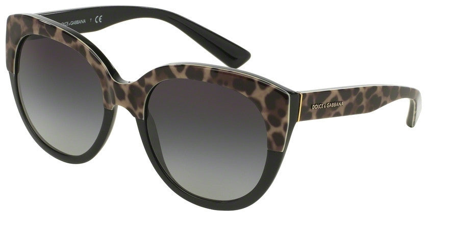 Dolce & Gabbana DG4259 19958G TOP LEO ON BLACK Specs at Home