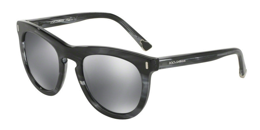 Dolce & Gabbana DG4281 29246G STRIPED ANTHRACITE Specs at Home