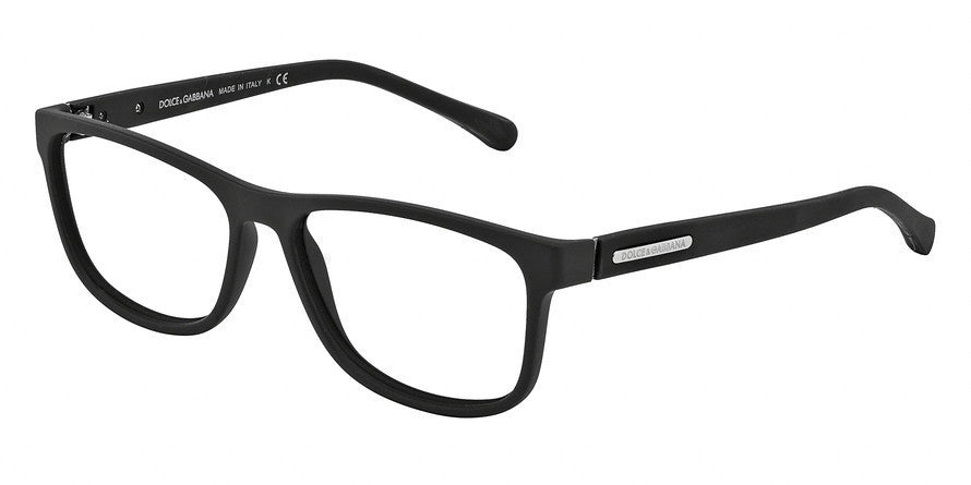 Dolce & Gabbana DG5003 2616 BLACK RUBBER Specs at Home