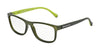 Dolce & Gabbana DG5003 2811 GREEN DEMI TRANSP RUBBER Specs at Home