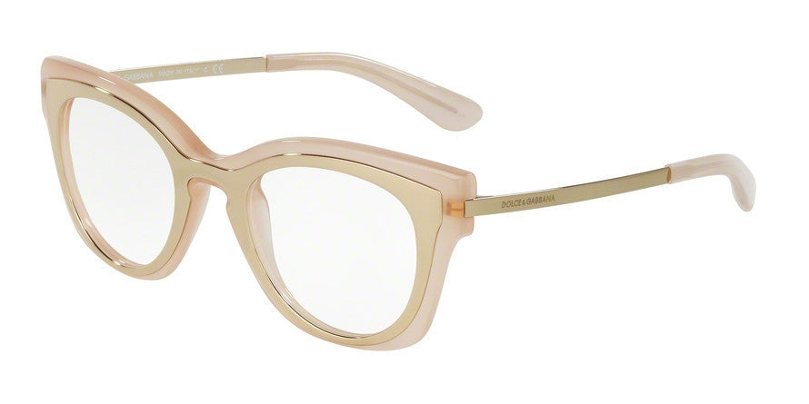 Dolce & Gabbana DG5020 3041 PALE GOLD/OPAL POWDER Specs at Home