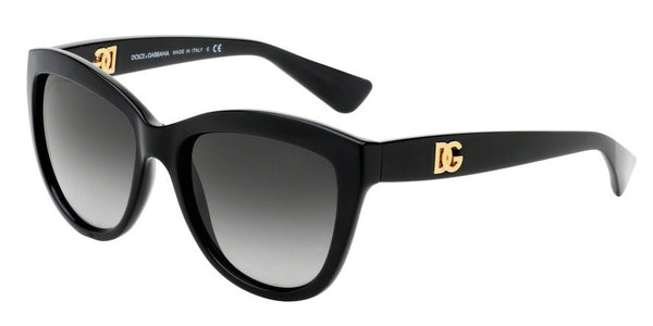 Dolce & Gabbana DG6087 501/8G BLACK Specs at Home