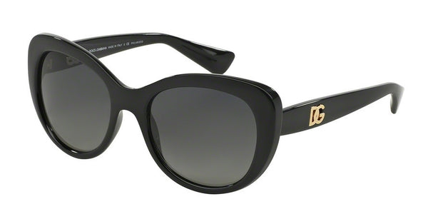 Dolce & Gabbana DG6090 501/T3 BLACK (Polarized) Specs at Home