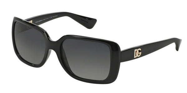 Dolce & Gabbana DG6093 501/T3 BLACK (Polarized) Specs at Home