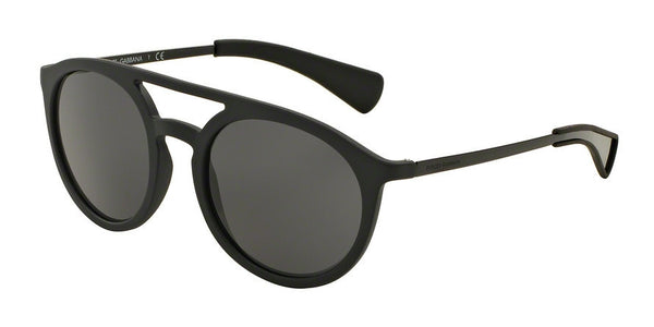 Dolce & Gabbana DG6101 193487 MATTE BLACK/BLACK Specs at Home