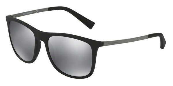 Dolce & Gabbana DG6106 28056G BLACK RUBBER Specs at Home