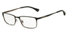 Emporio Armani EA1042 3127 MATTE BLACK/BLACK/BROWN Specs at Home