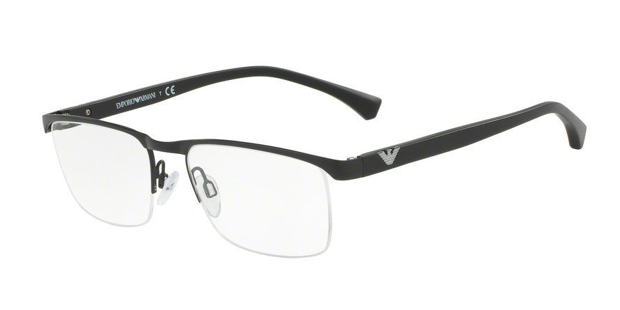 Emporio Armani EA1056 3001 MATTE BLACK Specs at Home