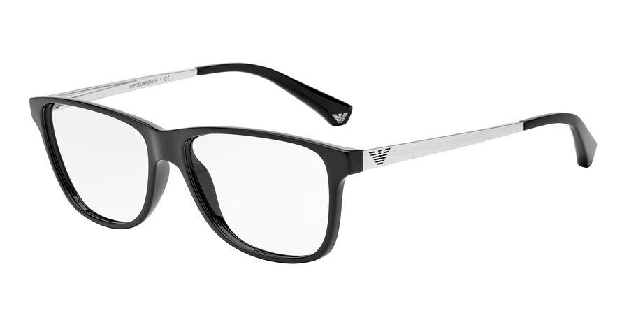 Emporio Armani EA3025 5017 BLACK Specs at Home