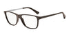 Emporio Armani EA3025 5196 DARK BROWN Specs at Home